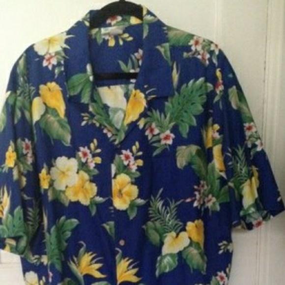 T Y Dresses & Skirts - Hawaiian print dress and shirt jacket